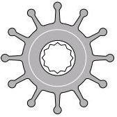 Johnson Impeller 1027B