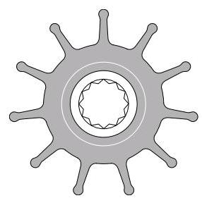 Johnson Impeller 814B