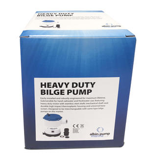 Bilge Pump Heavy Duty 2250 GPH 12V