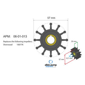 Premium Impeller kit PN 06-01-013